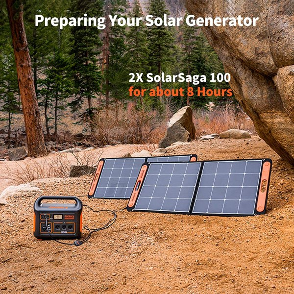 Jackery Portable Power Station Explorer 1000, 1002Wh Solar Generator (Solar Panel Not Included) with 3x110V/1000W AC Outlets, Solar Mobile Lithium Battery Pack for Outdoor RV/Van Camping, Road Trip