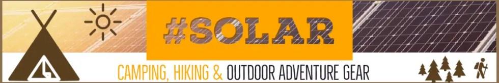 Solar Hiking & Camping Gear