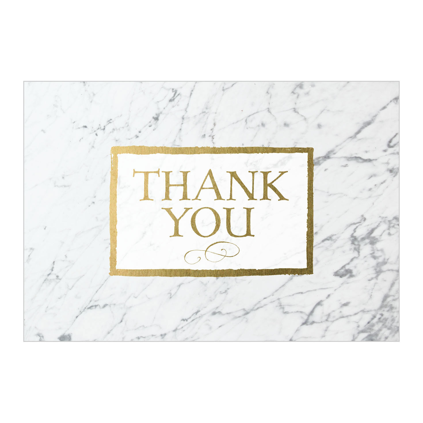 Business Thank You Cards Marble Pattern Thanks Hallmark