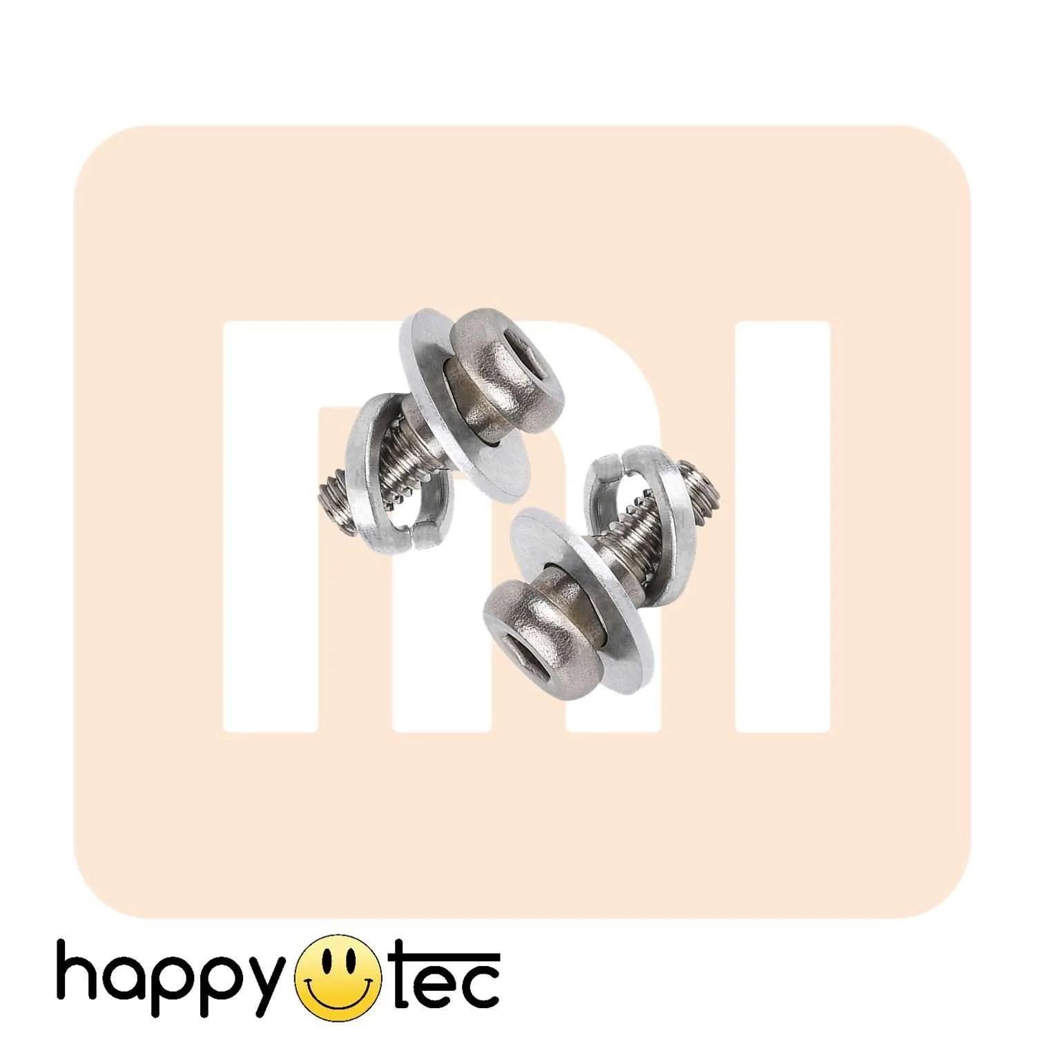 Coppia viti di ricambio ruota posteriore Xiaomi M365
