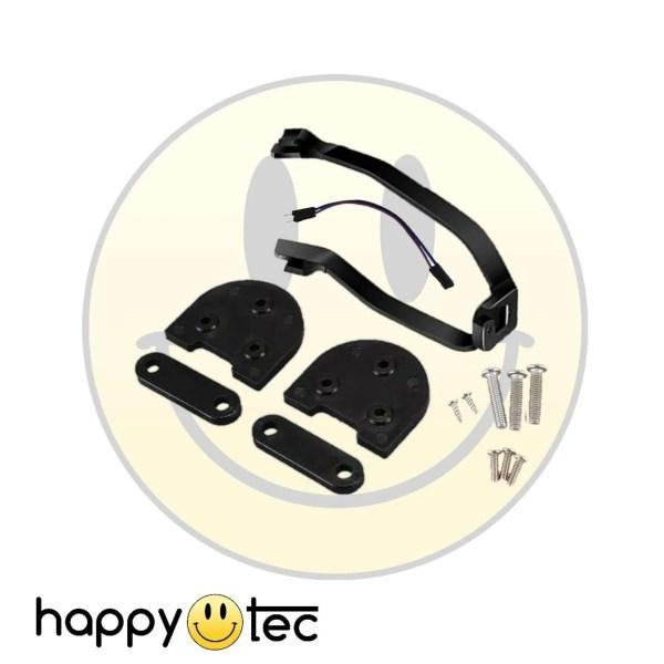 Accessori per Xiaomi Kit spessori + staffa parafango ruote 10″ Nero-Nero