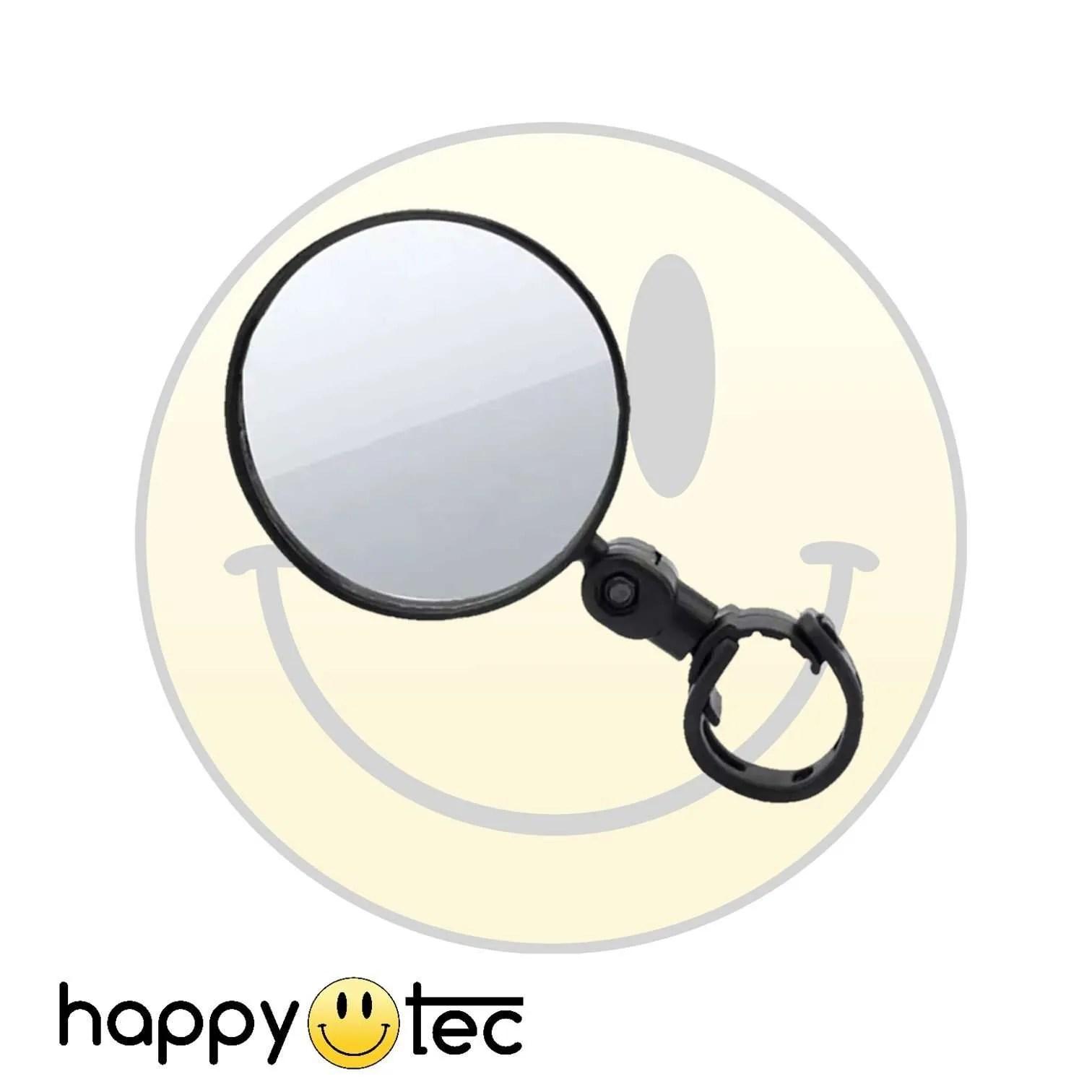 Accessorio universale Specchietto retrovisore Nero