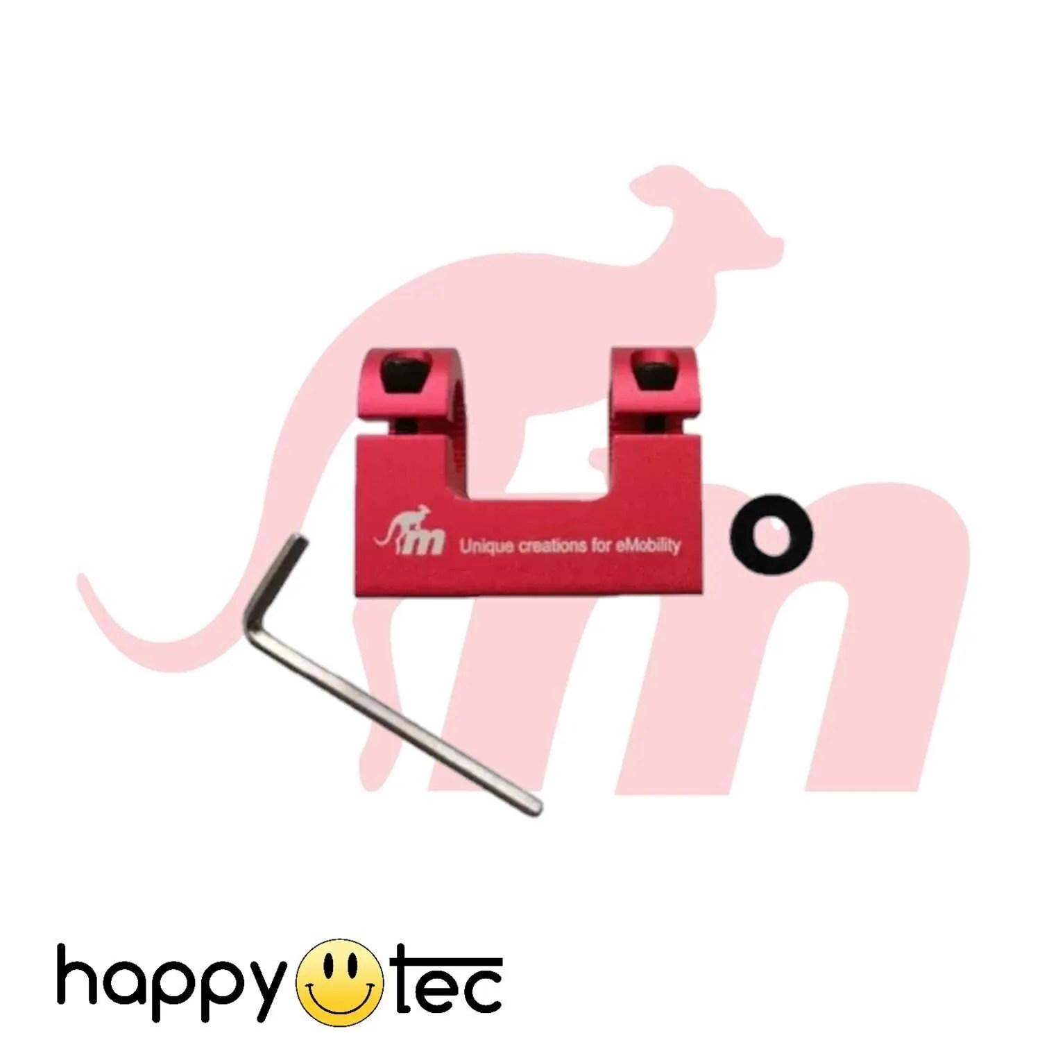 Supporto-parafango-per-ammortizzatori-by-Monorim-Rosso ricambi accessori riparazione assistenza tecnica monopattini elettrici monorim