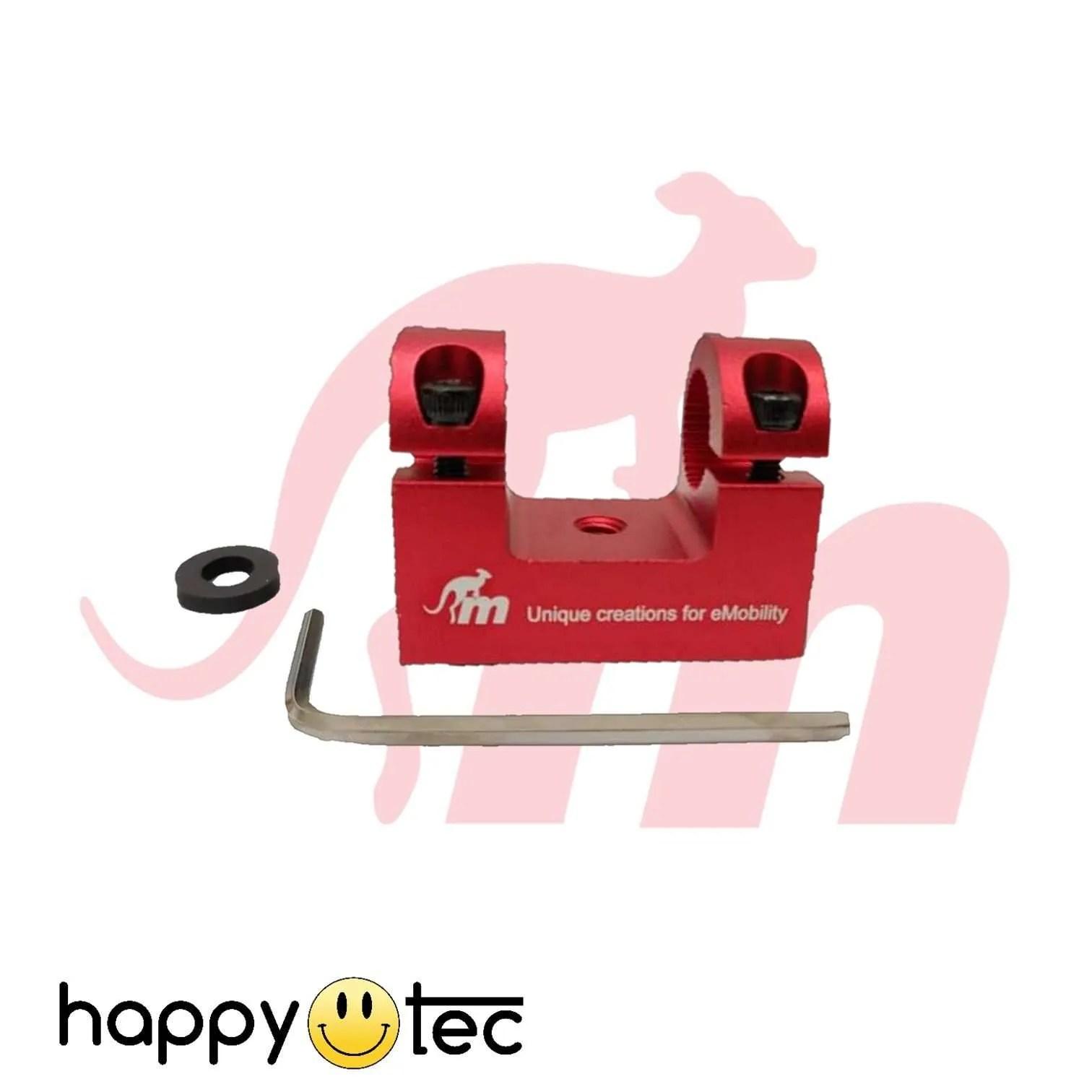 Xiaomi-Supporto-parafango-per-ammortizzatori-by-Monorim-Rosso ricambi accessori riparazione assistenza tecnica monopattini elettrici monorim