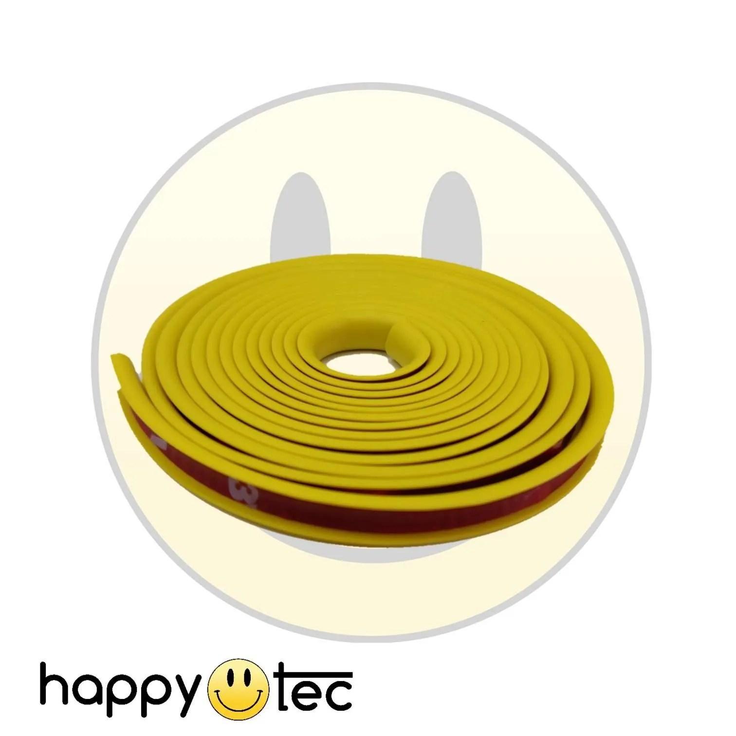 Striscia contorno bumper pedana monopattino Xiaomi giallo