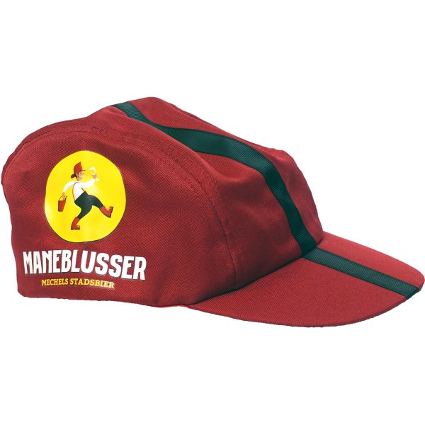 Rode cap with Maneblusser logo