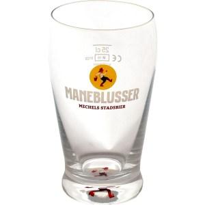 Retro glas Maneblusser