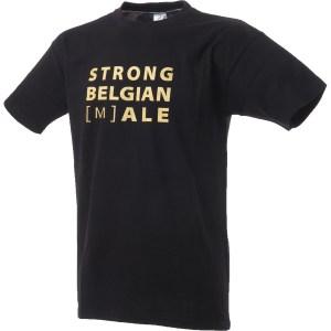 T-shirt Gouden Carolus 'STRONG BELGIAN [M]ALE'
