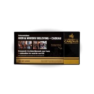 Belevenisbon: bier & whisky beleving + cadeau