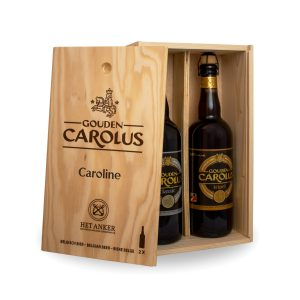 Personalised beer box Gouden Carolus Classic + Tripel 2x75cl