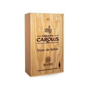 Personalized box Gouden Carolus Classic + Tripel 2x75cl