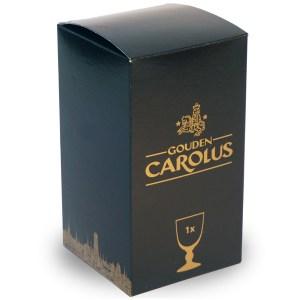 Glas-Gouden-Carolus-25cl-geschenkverpakking
