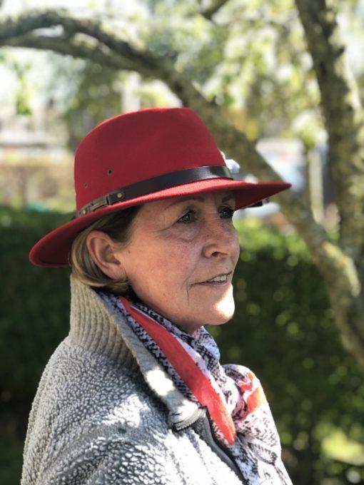 Katherine wolvilten hoed