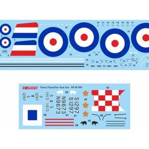 "Armory 1/48 Fairey ""Flycatcher"" floatplane on metal floats AR48004"