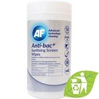 Anti-bacterial sanitizing screen wipes tub of 60