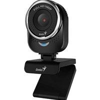 Genius QCam 6000 1080P Full HD with 360 Degree Rotation WebCam Black