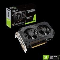 ASUS TUF Gaming GeForce GTX 1650 OC Edition 4GB GDDR6 Dual Fan Graphics Card