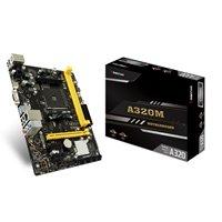 Biostar A320MH AMD Socket AM4 HDMI/VGA Micro ATX USB 3.2 Gen1 Motherboard