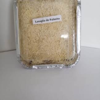 Lasaña de Palmitos de Cangrejo y Champiñones