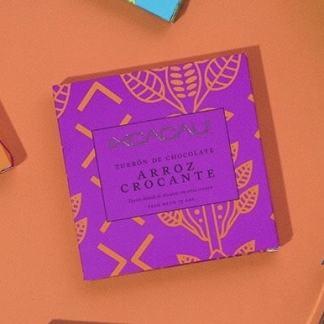 Barra de Turrón de Chocolate con Arroz Crocante