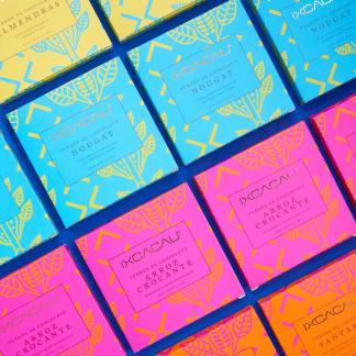 Barra de Turrón de Chocolate Fantasía