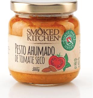 Pesto ahumado de tomates