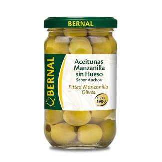Aceitunas deshuesadas Bernal