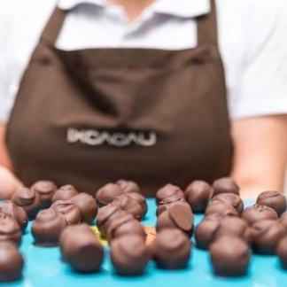 Trufas de chocolate 46% cacao