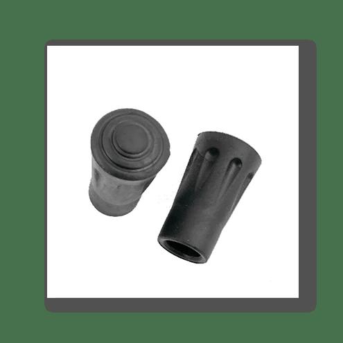 Wanderstock Gummiaufsätze (2 Stk)