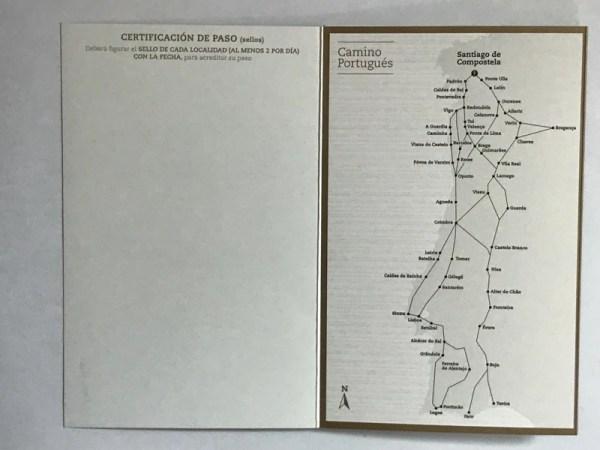 Pilgerpass mit Sonderstempel Heiliges Jahr