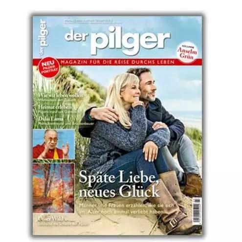 Titelbild der Pilger Magazin Herbst 2021