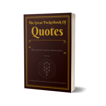 The Great Pocketbook Of Quotes (Hardcover)