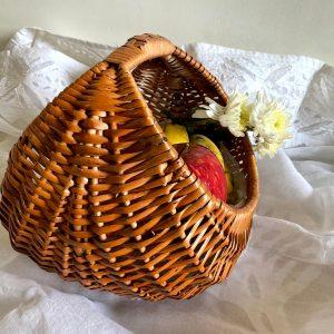 Nila Cane Basket – Medium