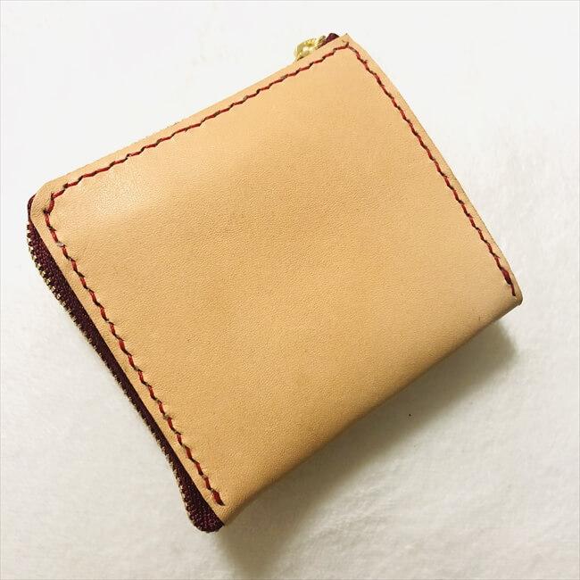 [型紙]L字ファスナーの小型財布の感想