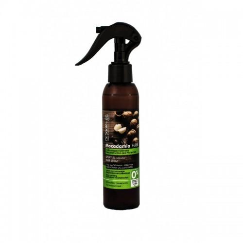 Spray regenerant pentru par fragil cu ulei de macadamia si cheratina, 150 ml, Dr. Sante