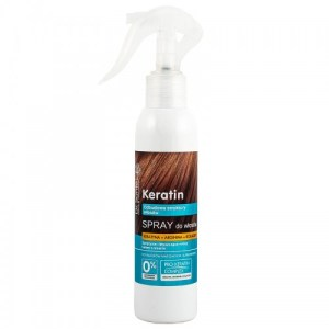 Spray restructurant pentru par fragil cu cheratina, arginina si colagen, 150 ml, Dr. Sante