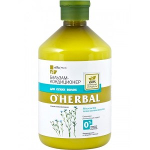 Balsam hidratant si emolient pentru par uscat, 500 ml, O'Herbal