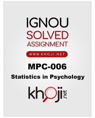 MPC-006-Solved-Assignment-English-Medium
