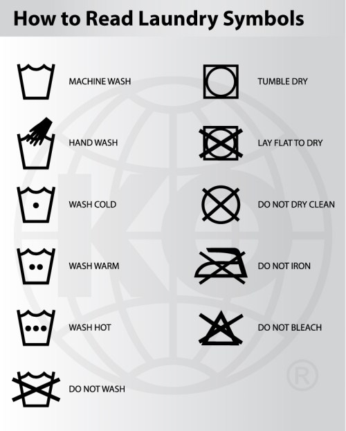 Washing And Garment Care Instructions Knockout Sportswear