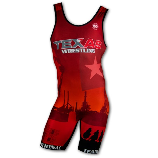 2017 Texas National Team Wrestling Singlet For Sale