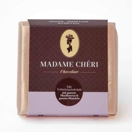 Madame Chêri - Vollmilch Maulbeere-Mandel