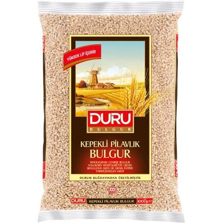 DURU Bulgur ~ Vollkorn Bulgur grob ~ Kepekli Pilavlik