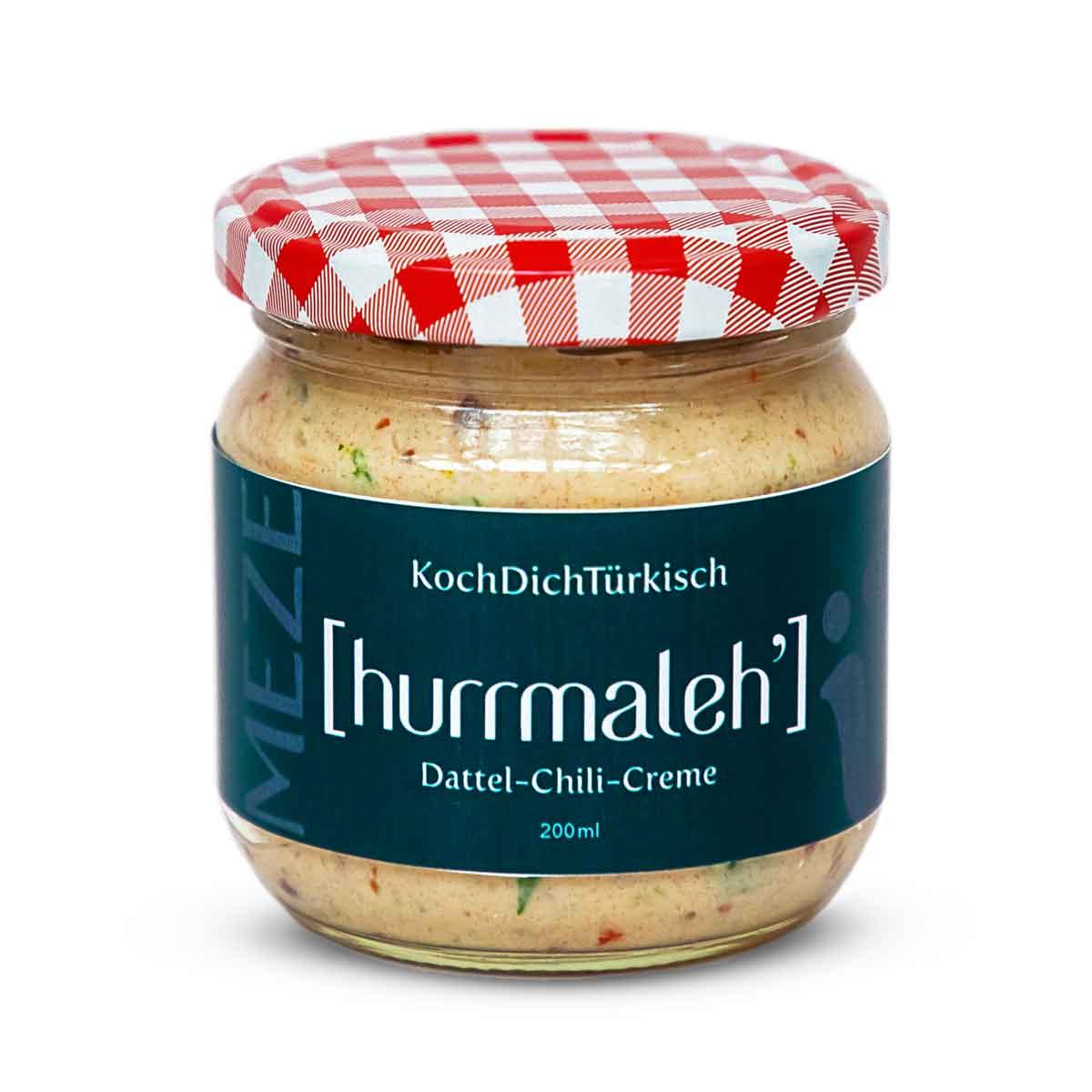 MEZE ~ [hurrmaleh'] – Dattel-Chili-Creme von KochDichTürkisch - Tapas - Antipasti - vegetarisch