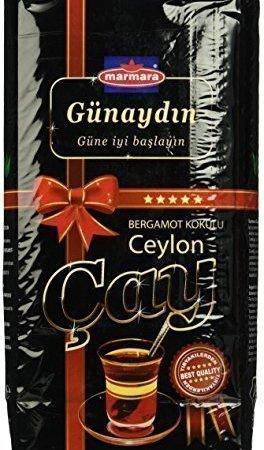 Marmara - Günaydin Earl Grey Schwarzer Ceylon Tee