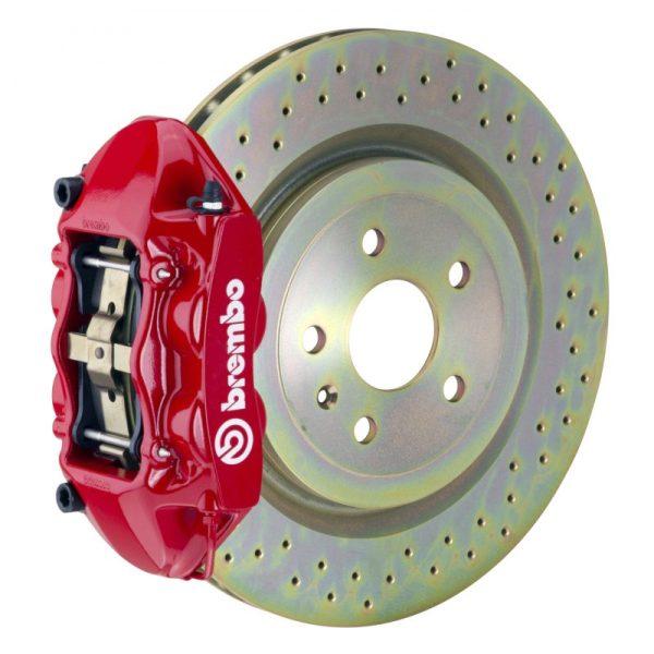 Комплект Brembo 2P48001A для CHEVROLET CAMARO V6 2010-2015