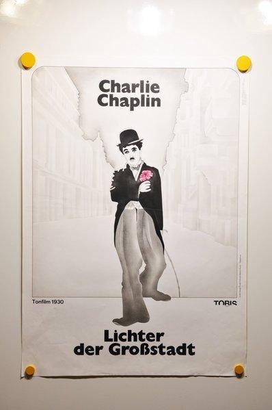 movie poster charlie chaplin city lights