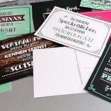 Postkarten Hoch