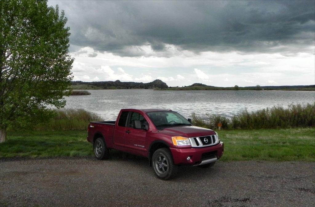 Nissan Titan Fishing