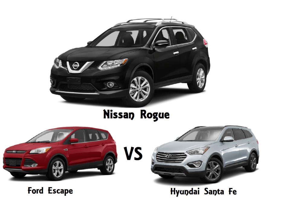 2016 Nissan Rogue Comparison Fort Walton Beach