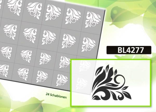 BL4277 Klebeschablonen